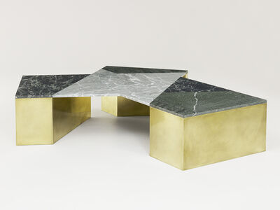 Brian Thoreen, 'Mixed Marble Coffee Table - Green', 2015