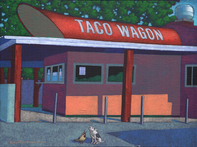 Ray-Mel Cornelius, 'Taco Wagon 2, Oak Cliff Afternoon', 2016