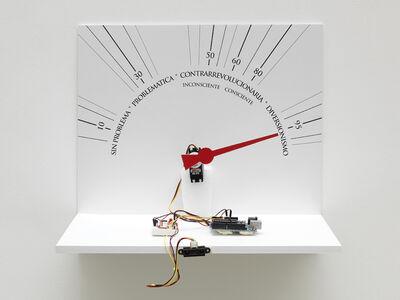 Lázaro Saavedra, 'Detector de ideologias (version n°4 prototype)', 2010