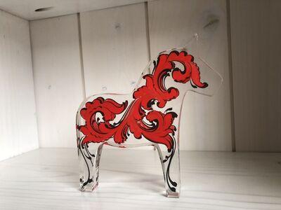 Tara Austin, 'Dala Horse (Red)', 2019