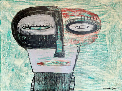 "Milo Lockett, '""Personaje""', ca. 2012"