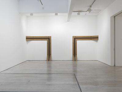 Lesley Foxcroft, '2020 (Double Corner Work) ', 2019