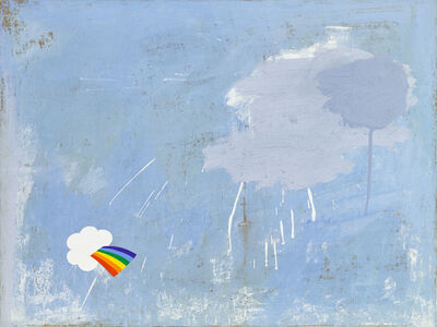 Linda Davidson, 'Rainbow Sticker', 2015
