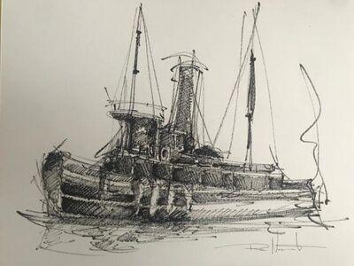 Rene Nascimento, 'Tugboat 2', 2020