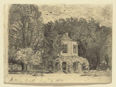 John Constable, 'The Octagonal House, Putney Heath', 1816