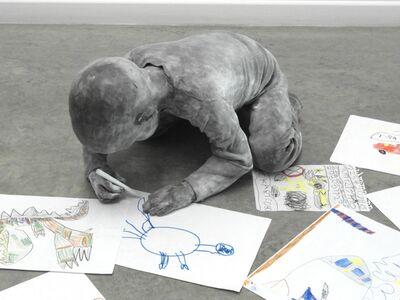 José Cobo, 'Child Drawing', 2018