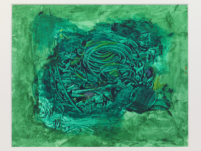 Bryan Kneale, 'Untitled (green)', 2017