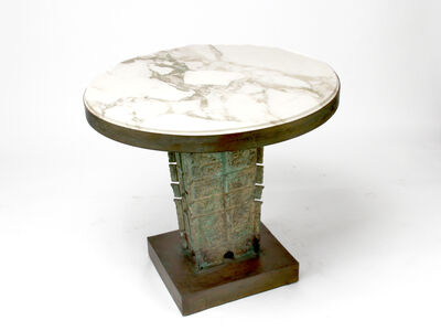 Philip and Kelvin LaVerne, 'Marble Table'