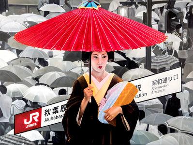 RYOKO WATANABE, 'red umbrella', 2011