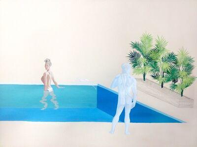 Christian Little, 'Dionysus Poolside (Knees)', 2015