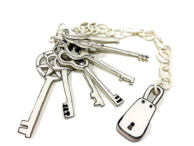 Katharine Morling, 'Bunch of Keys on Chain', 2017