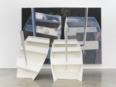 Jennifer Losch Bartlett, 'Boats', 1987