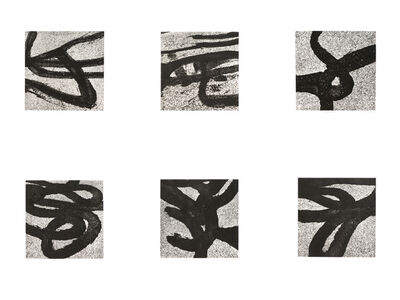 Aaron Siskind, 'Tar Abstracts: Providence 68', 1998