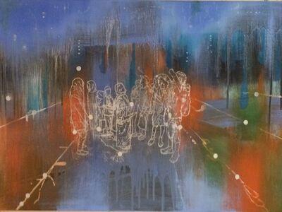 Jon Cattapan, 'Blue Group Study II', 2015