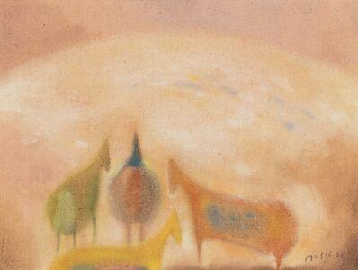 Zoran Antonio Mušič, 'Dalmatian motif', 1968/'69