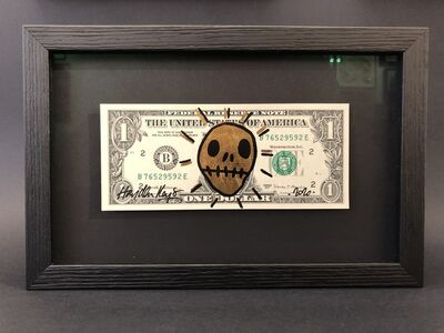 Hayden Kays, 'On The Money - Gold Leaf & Black - Open edition of 6 - Black on Black Frame', 2020