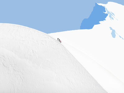 Olivo Barbieri, 'Alps - Geographies and People #17', 2012