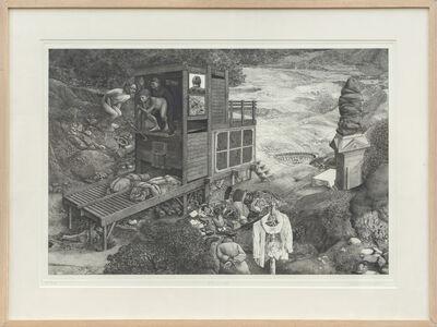David Becker, 'Monuments', 1980