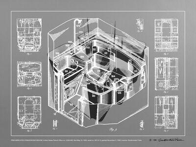 R. Buckminster Fuller, 'PREFABRICATED DYMAXION BATHROOM', 1981