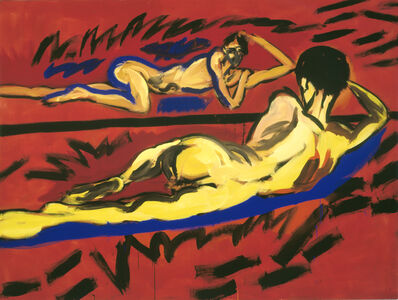 Rainer Fetting, 'Velazquez-Claus', 1982