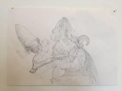 Joel Wyllie and Jerusha West, 'Collaborative Drawing 1', 2019