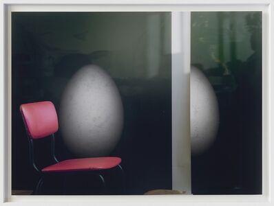 Edgar Leciejewski, '20.03.2019 (Atelierstillleben roter Stuhl)', 2019