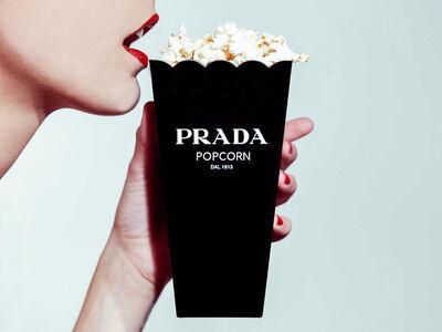 Tyler Shields, 'Prada Popcorn', 2014