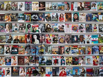 Liu Bolin, 'Hiding in the city - Israel magazine', 2018
