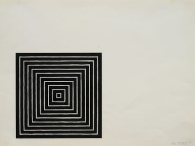Frank Stella, 'Angriff (from Conspiracy, The Artist as Witness Portfolio)', 1971