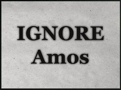 Dennis Dugan, 'Ignore Amos', 2017
