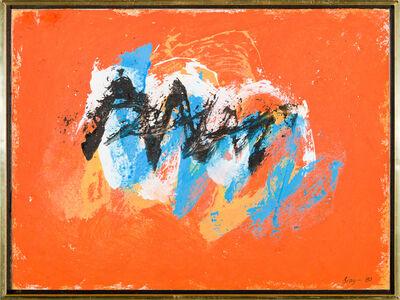 Cleve Gray, 'Roman Walls #89', 1980