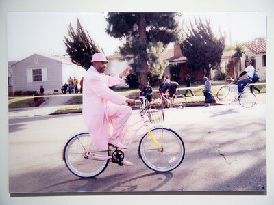Kathie Foley-Meyer, 'Pink Suit Bike', 2015
