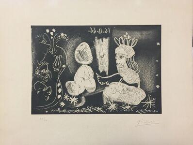 Pablo Picasso, 'Le Cocu Magnifique - Plate V', 1966