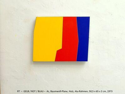 Rainer Tappeser, 'GELB/ROT/BLAU', 1973