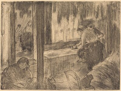 Edgar Degas, 'The Laundresses (Les blanchisseuses (La repassage))', ca. 1879