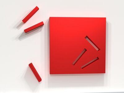 Lori Cozen-Geller, 'Patience (red)', 2011