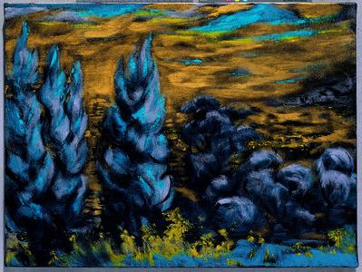 Chung-Chuan Cheng, 'The Night', 2004