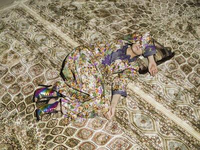 Farah Al Qasimi, 'M Napping on Carpet', 2016