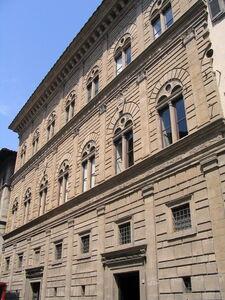Leon Battista Alberti, 'Palazzo Rucellai', 1455-1458