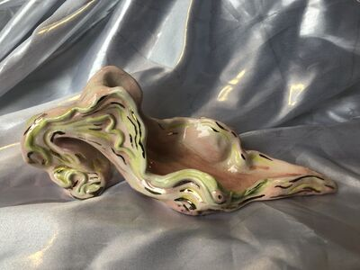 Zoe WIlliams, 'Flesh and lime slipper', 2019