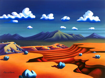 Joseph Comellas, 'Desert Canyon     (Print on canvas or Hahnemuhle paper)', 2019