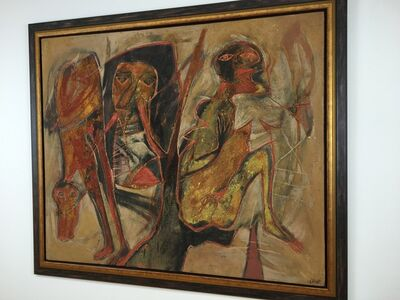 Alejandro Santiago, 'People in Tree', 1994