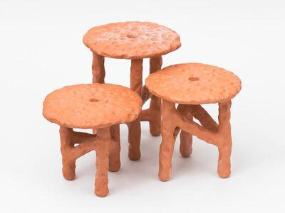 Chris Wolston, 'Palamino Side Tables', 2016