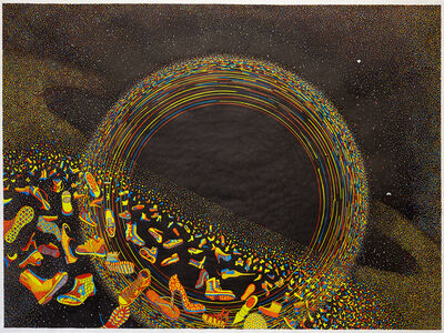 Styrmir Örn Guðmundsson, 'Black hole, in red, yellow and blue', 2014-2019