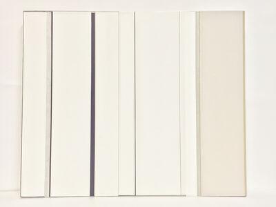 Ke Liu 刘可, 'Double Screen White (II)', 2017