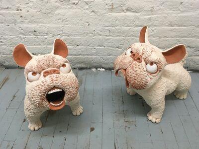 Kenjiro Kitade, 'Set of Ceramic Foo Dogs: 'Guardian Dogs, Cambodia 2'', 2019