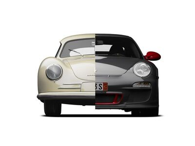 Michael Furman, 'COVER, PORSCHE UNDISCOVERED', ca. 2014