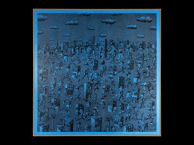 Antonio Seguí, 'Sueno Azul', 2014
