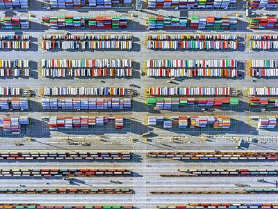 Jeffrey Milstein, 'Container Port 29', 2014