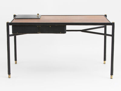 Jacques Adnet, 'Leather Writing Desk', ca. 1950